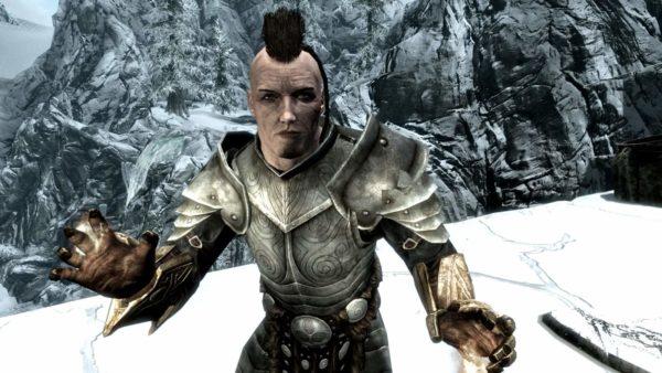 mein erster Skyrim-Charakter